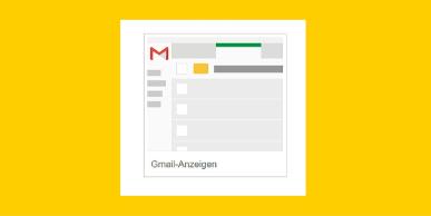 Google Werbung kann jetzt auch mit AdWords Anzeigen in Gmail geschalten werden