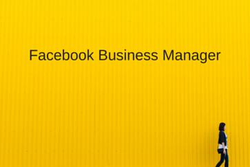 Facebook Werbung über den Facebook Business Manager steuern