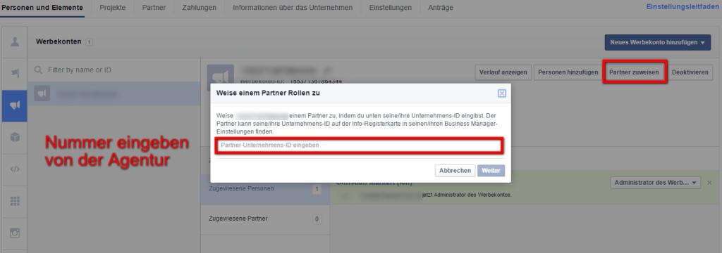 So geben Sie einer Facebook Agentur Zugriff auf Ihre Facebook Seite