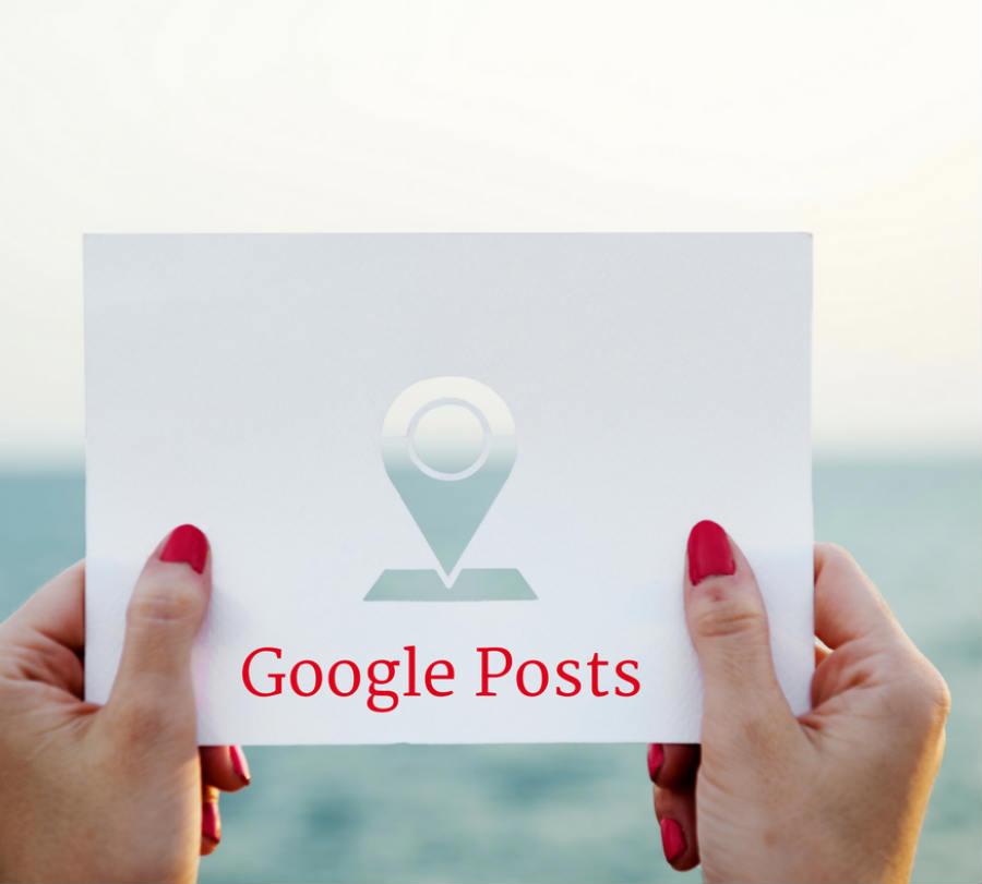 Google Posts ist ein neuer Mikro-Blog von Google in Google my Business